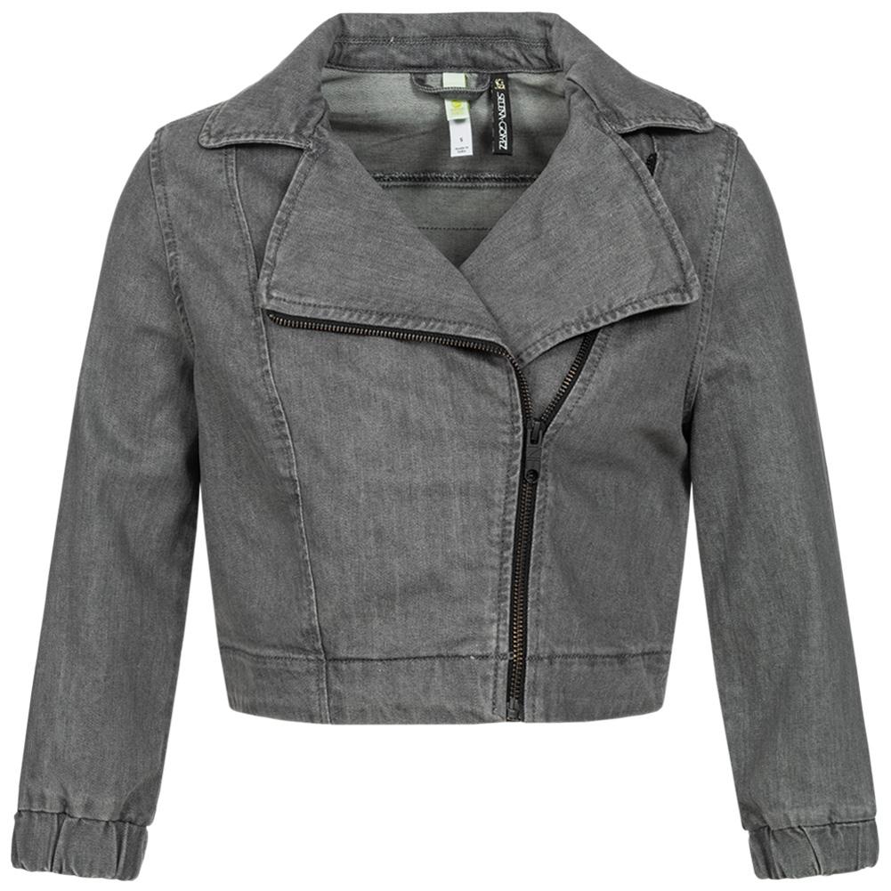 Sélection d'articles adidas en promotion - Ex : veste denim biker adidas Neo x Selena Gomez - gris (du XXS au L)