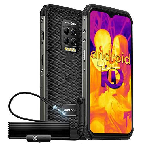 "Smartphone 6.3"" Ulefone Armor 9 - Full HD, 8 Go RAM, 128 Go ROM, Imagerie thermique et endoscope (vendeur tiers)"