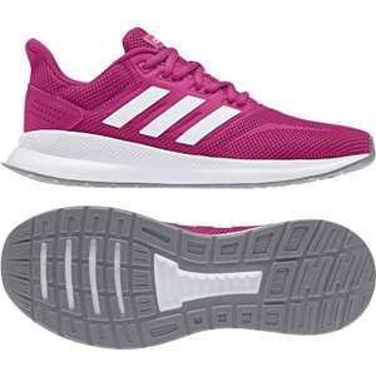 Chaussures de Running Adidas Falcon - Rose, Du 36 au 41 1/3