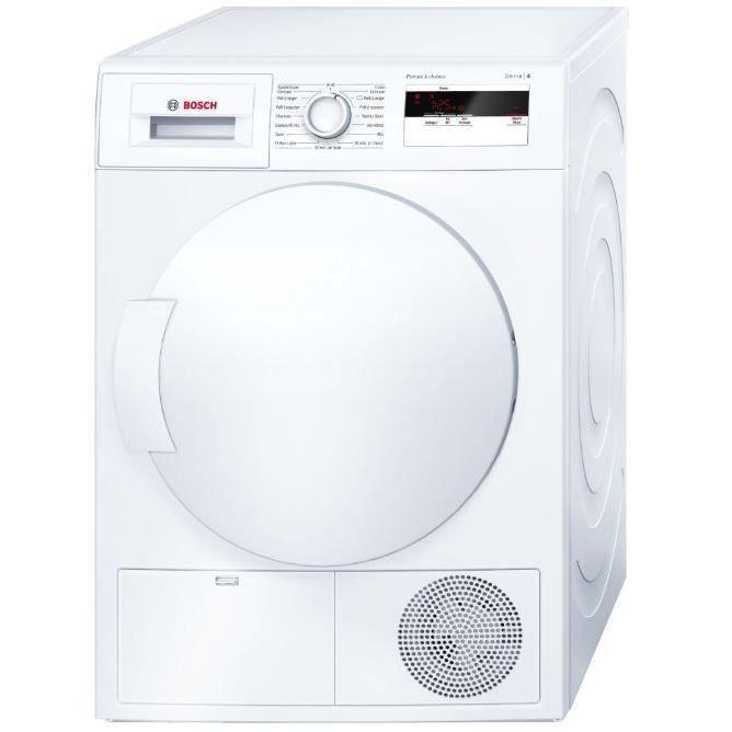 Sèche-linge frontal Bosch WTH83001FF - 7 kg, 65 dB, Pompe à chaleur, Classe A+
