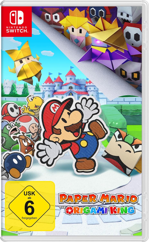 Paper Mario: The Origami King sur Switch (boîtier DE, + 1.72€ en Rakuten Points)