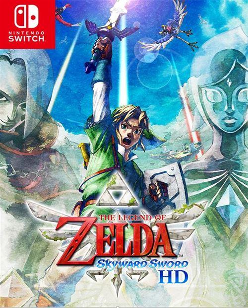 [Précommande] The Legend of Zelda: Skyward Sword HD sur Nintendo Switch (+10€ en chèque fidélité pour les adhérents)