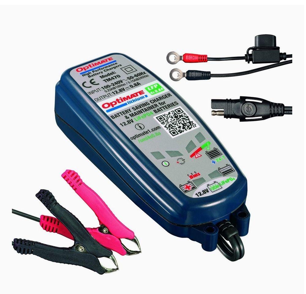 Chargeur de batterie Auto/Moto Lithium OptiMate TM470
