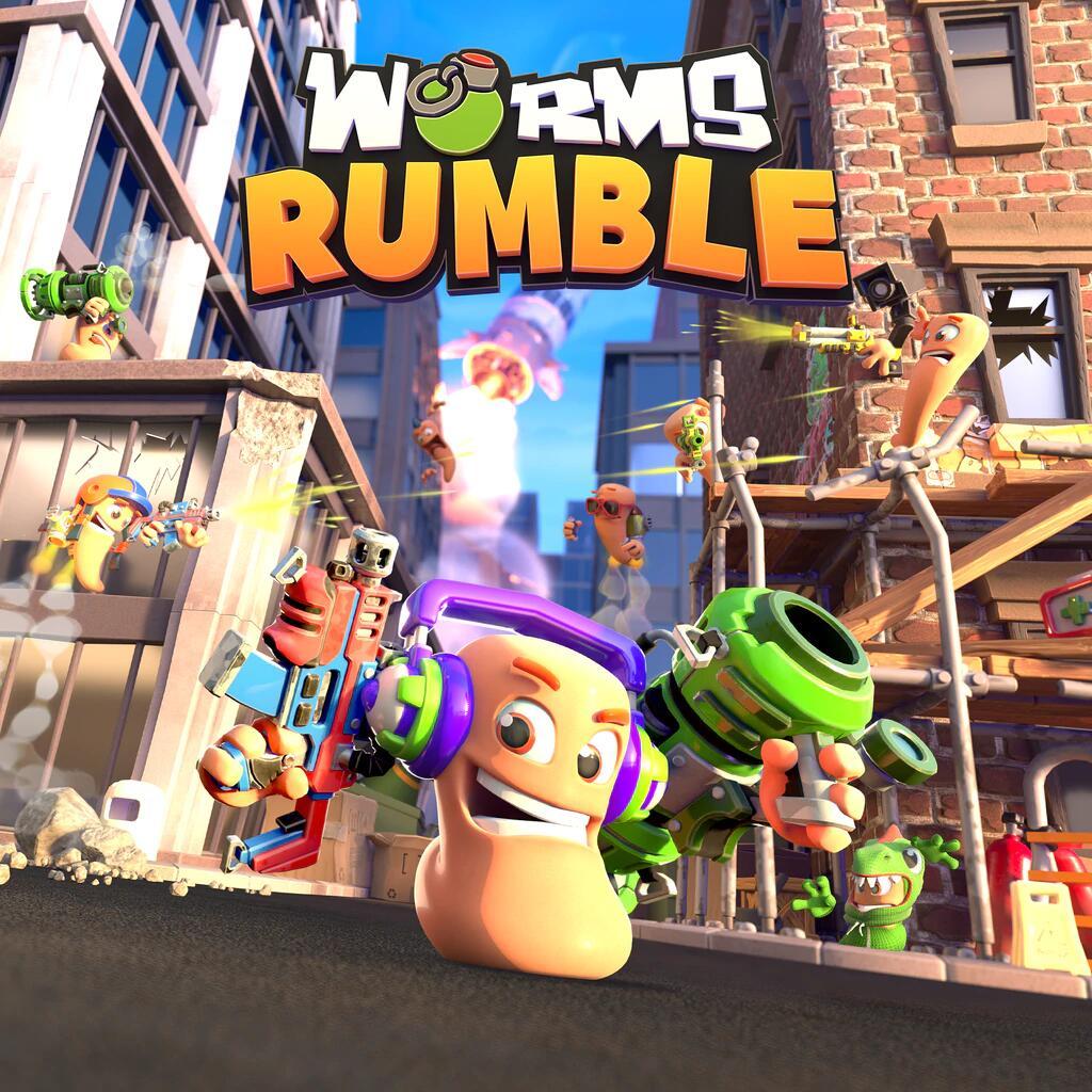 Jeu Worms Rumble jouable gratuitement pendant 3 jours sur PC (Dématérialisé)