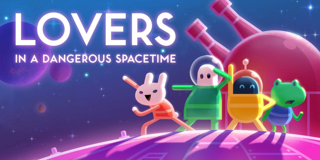 Lovers in a Dangerous Spacetime sur Nintendo Switch (Dématérialisé)