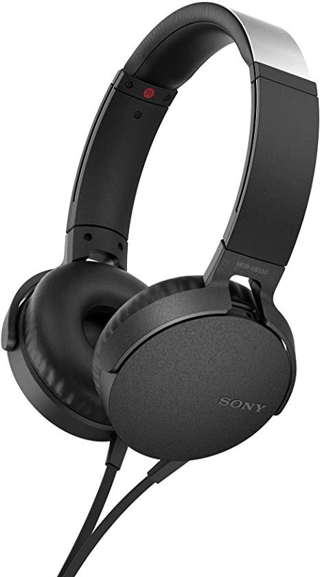 Casque audio Sony Extra Bass MDRXB550APB - Noir