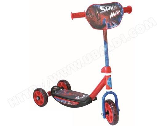 Trottinette 3 roues avec Board Spiderman ou Hello Kitty avec patins à roulettes