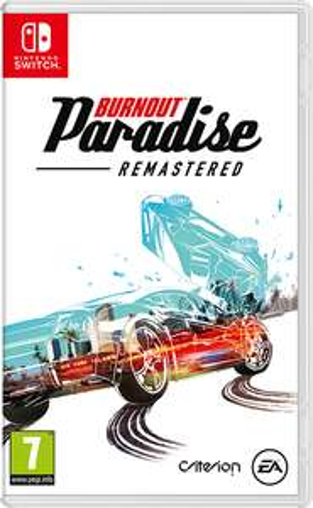 Burnout Paradise Remastered sur Nintendo Switch (Dématérialisé)