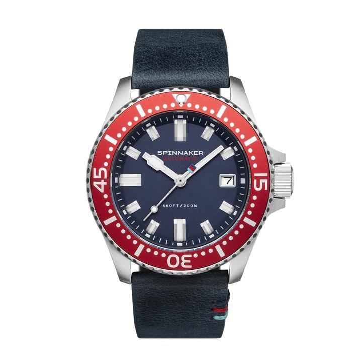 Montre automatique Spinnaker Edition limitée Help for Heroes - 41.5mm (Frais de douane et de port inclus) - spinnaker-watches.co.uk