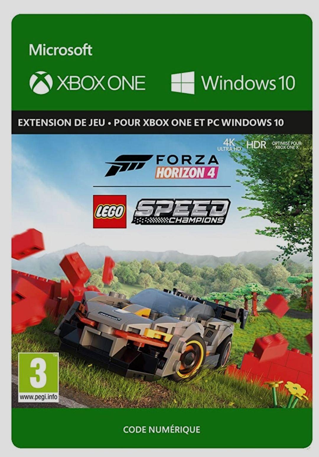 DLC Forza Horizon 4 Lego Speed Champions sur Xbox One & PC (Dématérialisé)