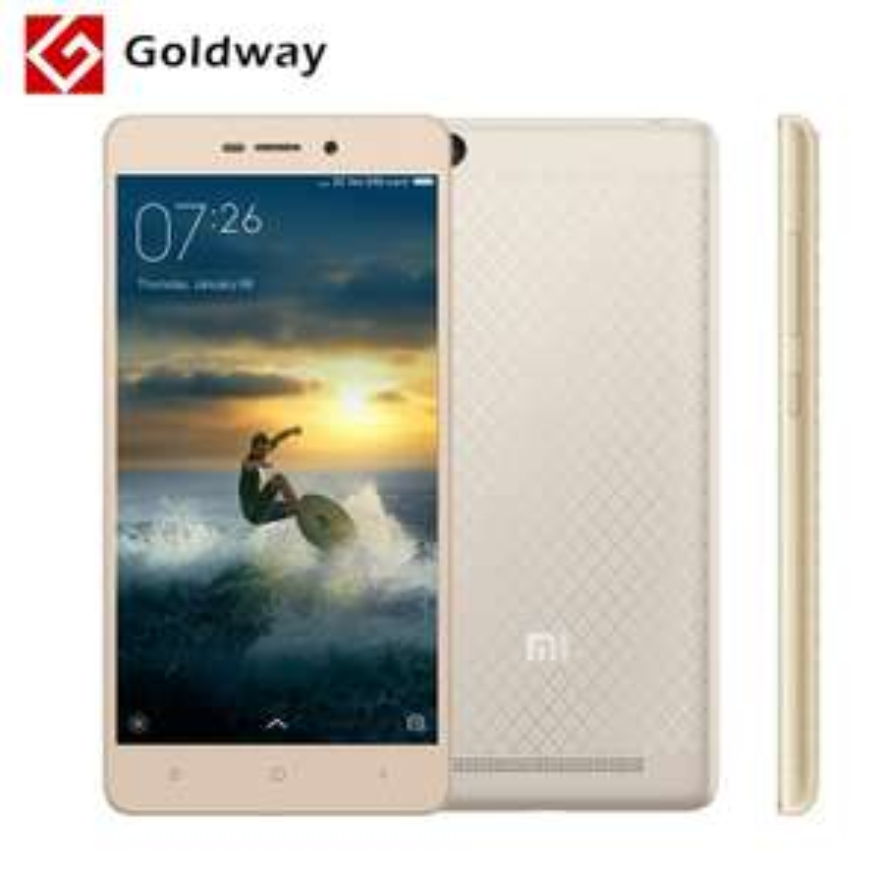 """Smartphone 5"""" Xiaomi Redmi 3 - 4100 mAh, 2 Go de RAM, 16 Go, Fashion gold"""