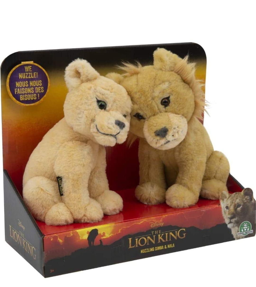 Peluches Le Roi Lion - Simba & Nala Câlins