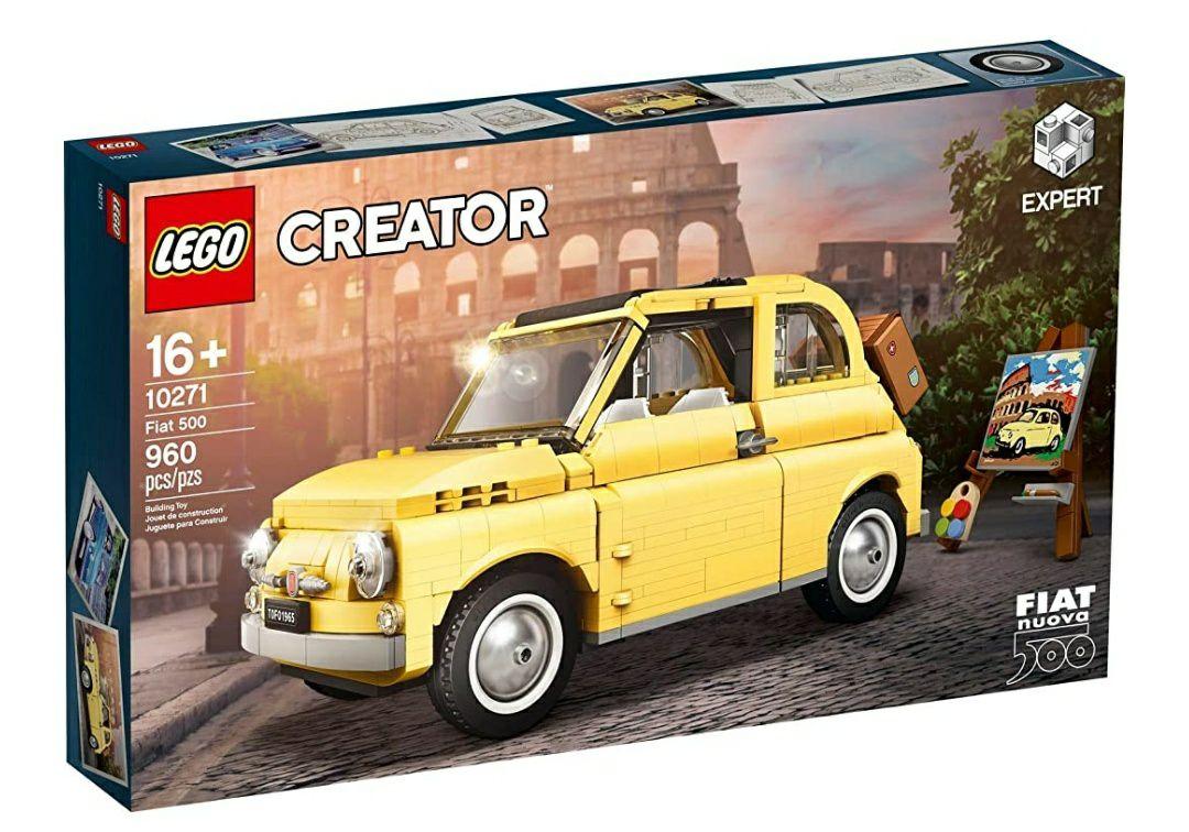 Jeu de construction Lego Creator 10271 - Fiat 500