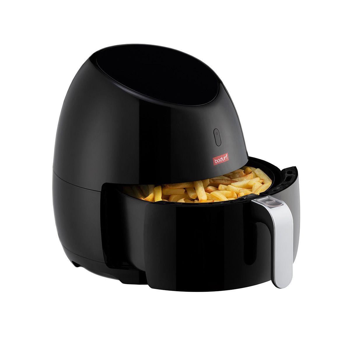 Friteuse sans huile Bodum Melior - 2000W, Capacité 5l / 1.2 kg, 8 options de cuisson