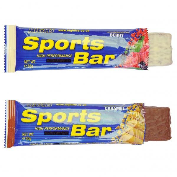 Pack de 25 barres énergétiques High 5 Sports Bars - 55 g