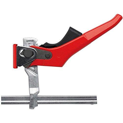 Étau de table tout en acier Bessey GTR16S6H - GTRH, Gris/Rouge, 160/60 mm