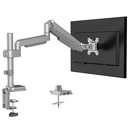 Support Écran PC avec bras articulé - Pivot et Fixation Bureau, Ports USB3.0 et Audio (Vendeur Tiers)