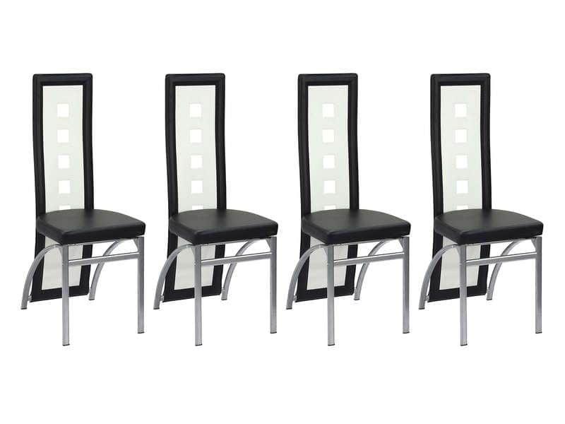 Lot de 4 chaises Bright