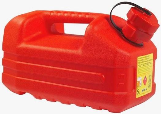 Jerrican à carburant homologué avec bec verseur - 5L
