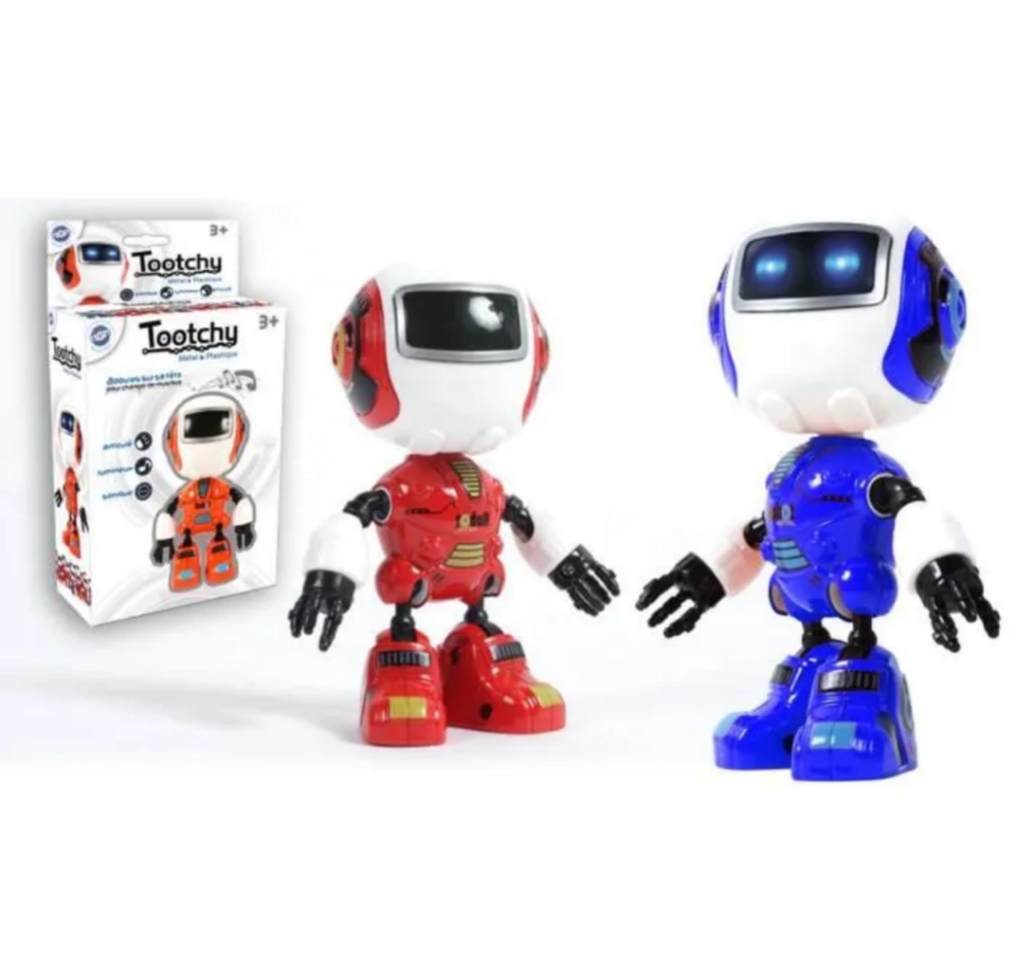 Robot Tootchy métal - 12cm
