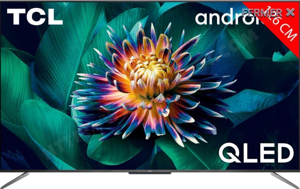 """TV QLED 50"""" TCL 50c711 - 4K UHD, HDR10+, Dolby Vision, Smart TV (Via ODR 30€)"""