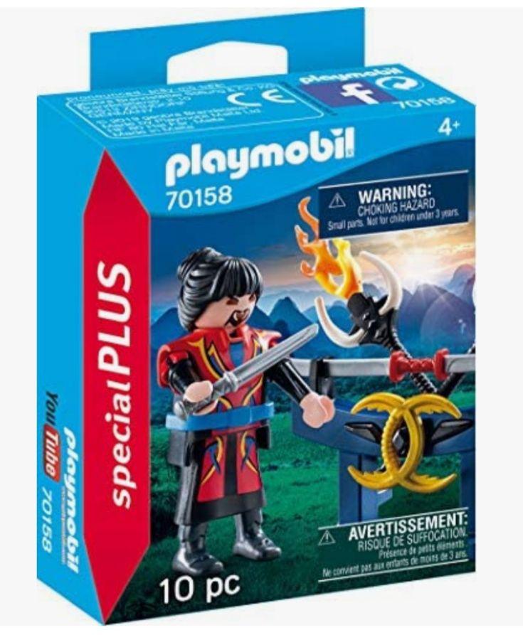 Playmobil Combattant Asiatique - 70158