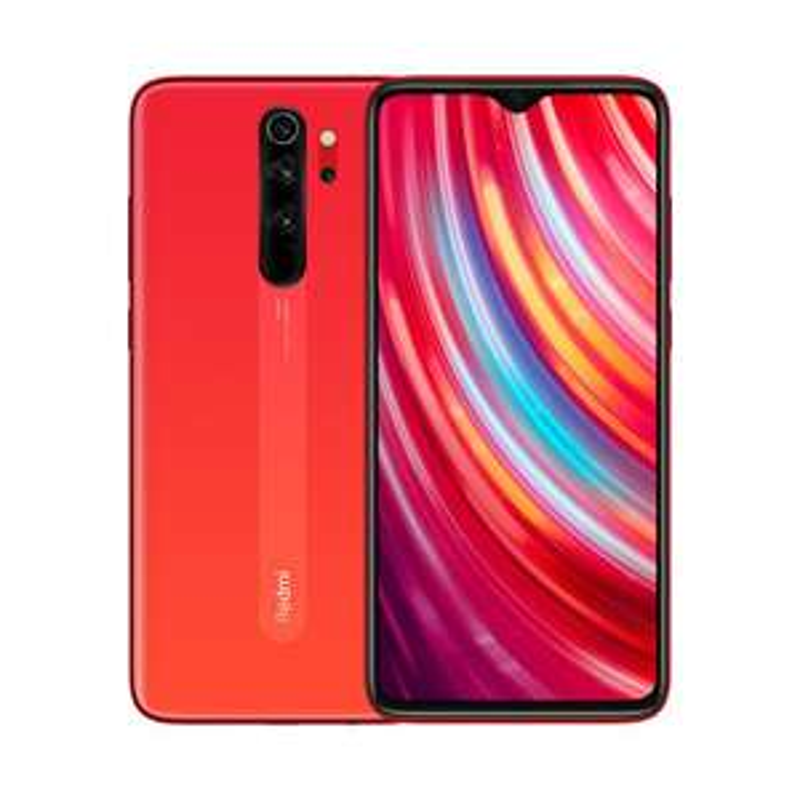 "Smartphone 6.53"" Xiaomi Redmi Note 8 Pro - 6 Go RAM, 128 Go, Orange Corail (via l'application et ODR de 30€)"