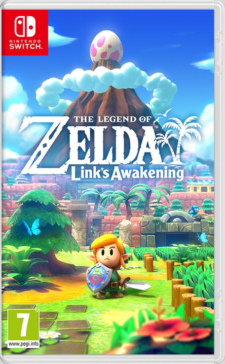 Sélection de Jeux en promotion sur Nintendo Switch - Ex : The Legend of Zelda: Link's Awakening (Dématérialisé - Store Hong Kong)
