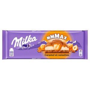 Tablette de chocolat Milka Mmmax - 300g, différents parfums au choix