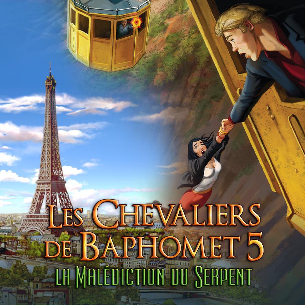 Les Chevaliers de Baphomet 5 - La Malédiction du Serpent sur Nintendo Switch (Dématérialisé)