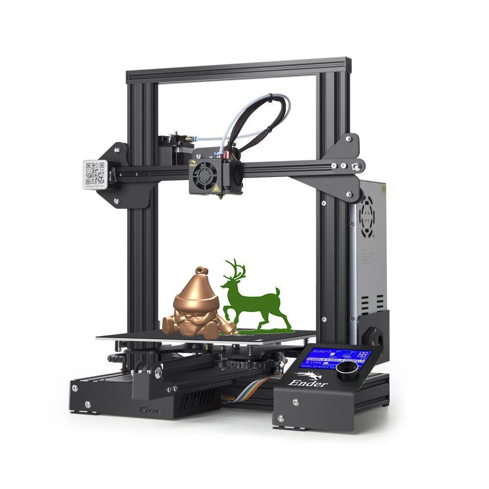 Imprimante 3D Creality Ender 3 (Entrepôt EU)