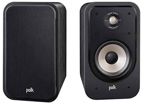 Paire d'Enceintes Bibliothèque Polk Audio Signature S20E - Noir
