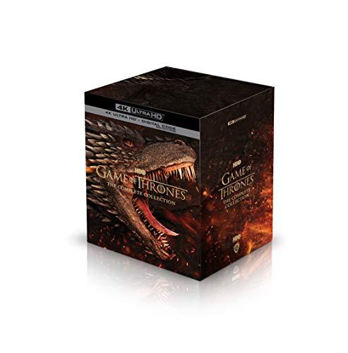 Coffret Blu-Ray 4K UHD : Game of Thrones - L'intégrale de la série (import US, frais d'importation inclus)