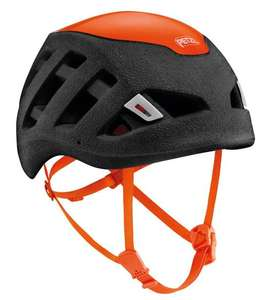 Casque d'escalade Petzl Sirocco 2021 (Noir / Orange)
