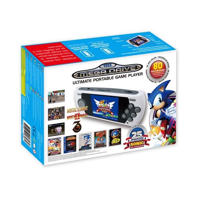Console de jeux portable Sega Mega Drive