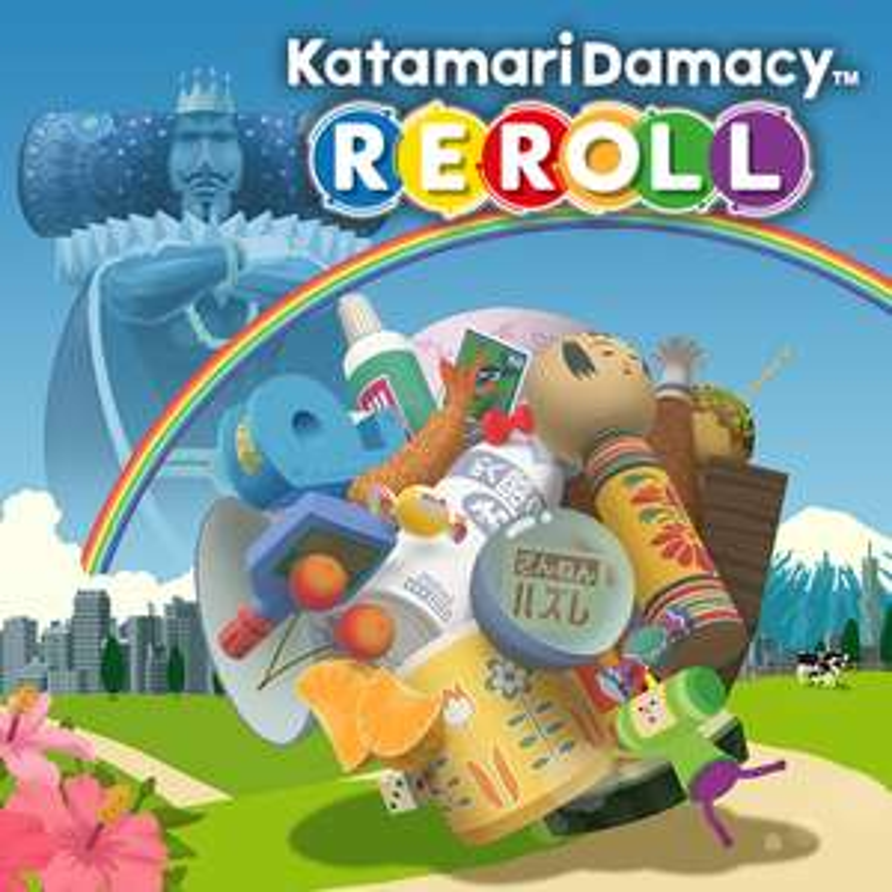 Jeu Katamari Damacy Reroll sur Nintendo Switch (Dématérialisé)