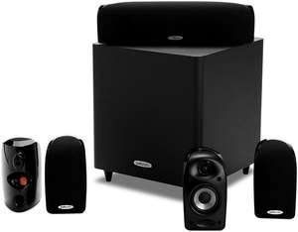 Pack d'Enceintes Home Cinéma 5.1 Compactes Polk Audio TL1600 (Noir) ou TL1700 (Blanc)