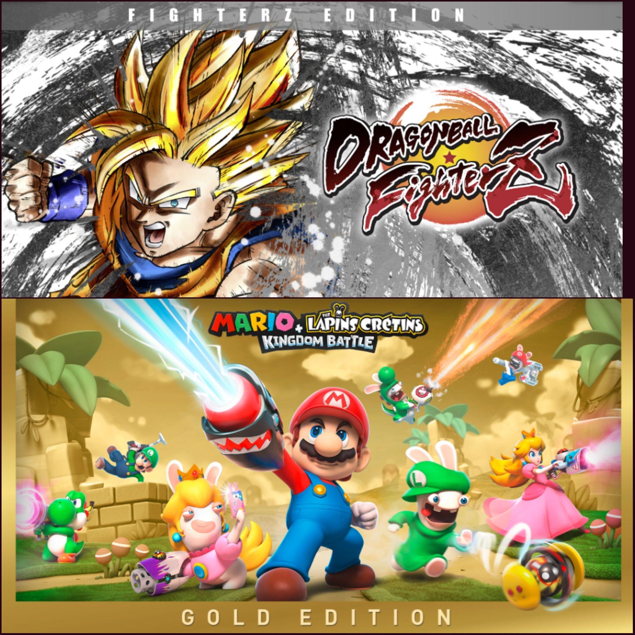 Sélection de Bundles de jeux pour Nintendo Switch en promo (Dématérialisé - Tous eShops)
