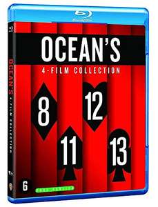 Blu-Ray Ocean's Collection (4 films)