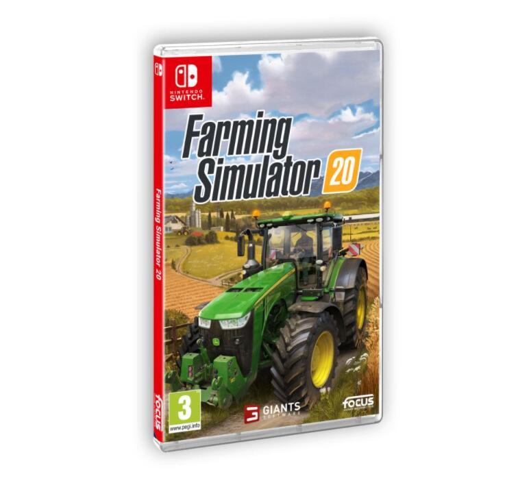 Farming Simulator 20 sur Nintendo Switch