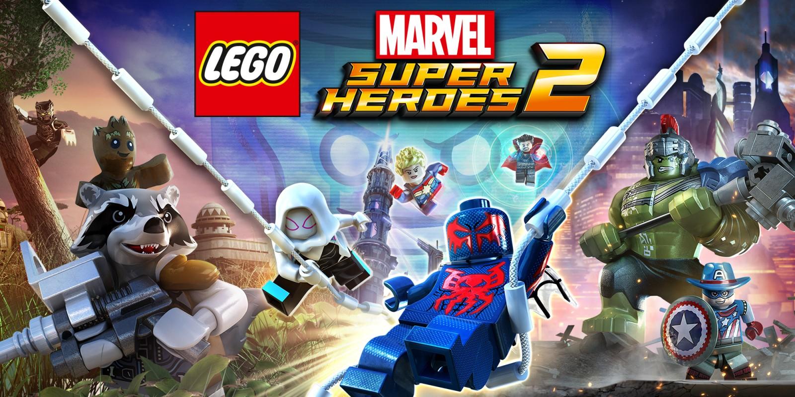 Sélection de jeux lego en promotion sur Nintendo Switch - Ex: Jeu LEGO Marvel Heroes 2 (Dématérialisé)