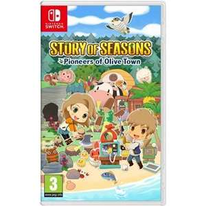 Jeu Story of Seasons : Pioneers of Olive sur Nintendo Switch