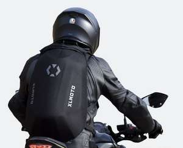 Sac à dos moto XLmoto Slipstream - 24L, Noir ou bleu