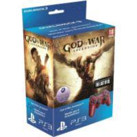 Pack God of War 4 : ascension + Dualshock rouge