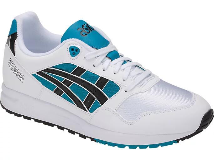 Chaussures de sport Asics Gelsaga - Coloris Teal Blue / Black (Tailles 45, 46.5)