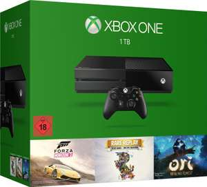 Console Microsoft Xbox One 1 To + Forza Horizon 2 + Rare Replay + Ori the blind forest