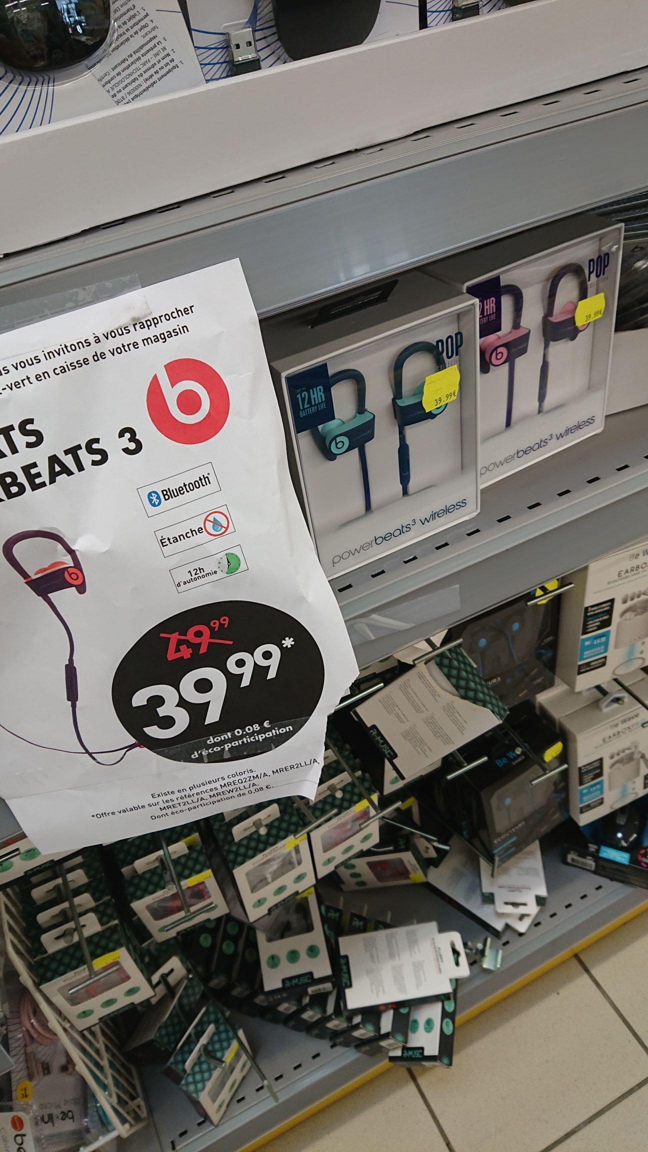 Ecouteurs sans fil Beats Powerbeats 3 - Reims (51)