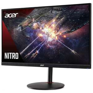 "Écran PC 27"" Acer Nitro XV272X - Full HD, IPS, 240 Hz, HDR 400, 400 cd/m², 1 ms, FreeSync, Pied réglable"