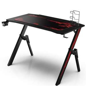 Bureau Gaming Alpha Omega Players - Noir et Rouge