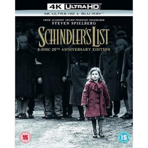 Sélection de films en Blu-ray 4K UHD à 10,99€ - Ex: Schindler's List
